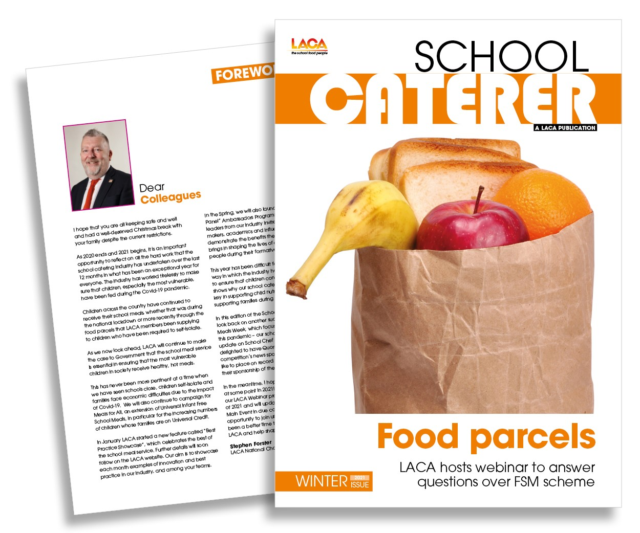 LACA School Caterer Winter