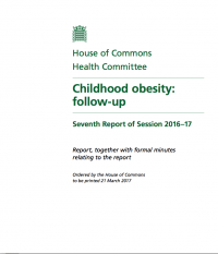 Childhood Obesity House of Commons
