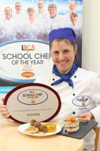 Tracy Healy wins School Chef of the Year 2017