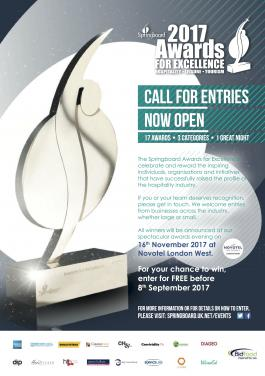 Springboard Awards for Excellence 2017 call for entries