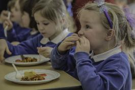 More children eating healthy lunches – new DfE data reveals
