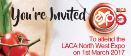 Your invitation to the LACA North West Expo