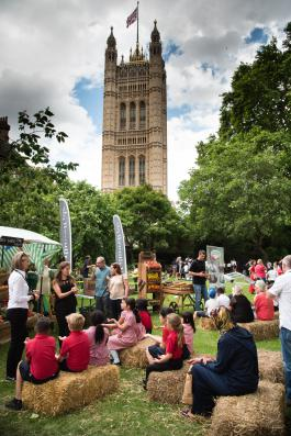 School Food Matters celebrates tenth birthday at Westminster Abbey College Garden