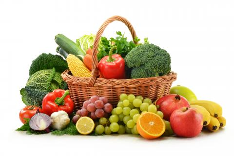 Fresh Fruit & Vegetables image.