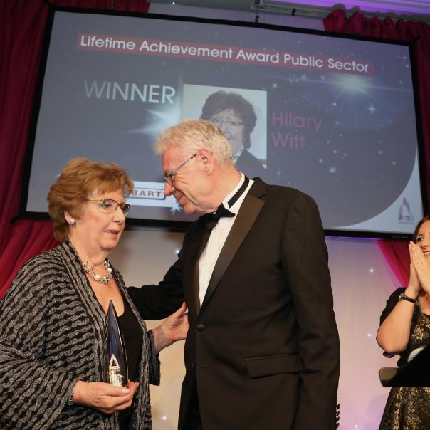 Hilary Witt Cost Sector Catering Awards public sector lifetime achievement