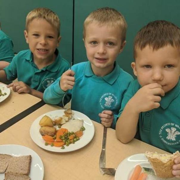 local food links dorset school meals