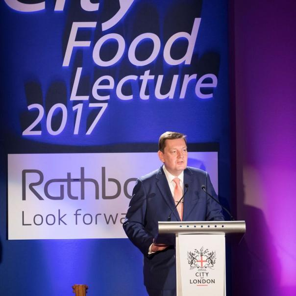 Professor calls for different approach to food at City Food Lecture 2017